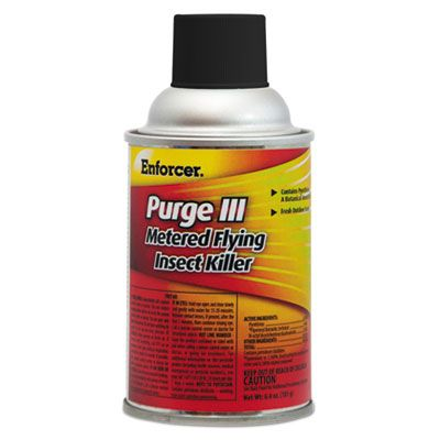 Zep EPRGFIK7 Enforcer Purge III Flying Insect Killer, 6.4 oz - 12 / Case