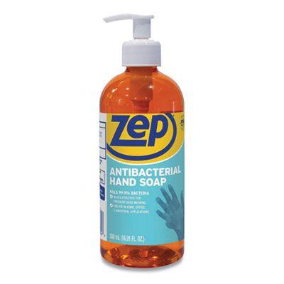 Zep R46101 Antibacterial Hand Soap, Floral Scent, 16.9 oz Bottle - 12 / Case