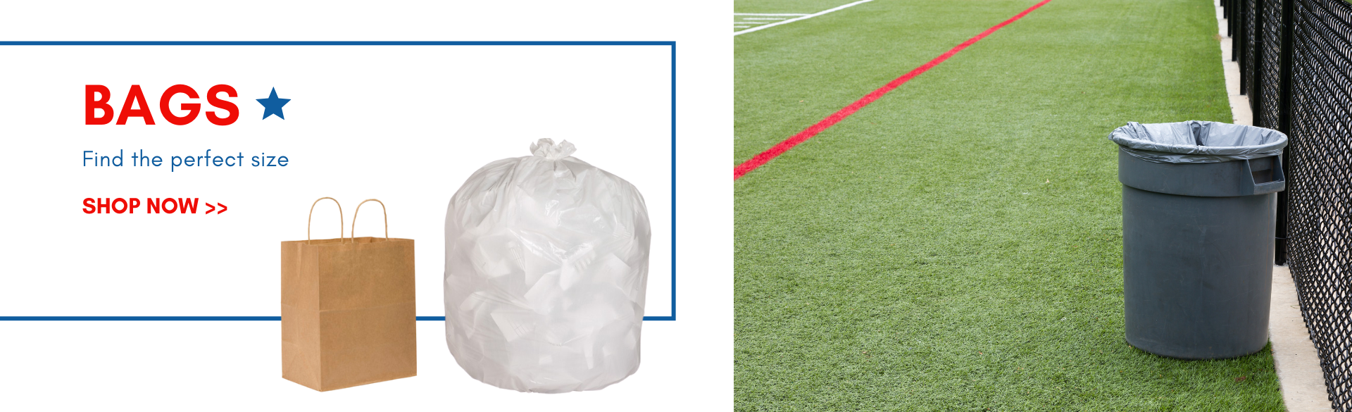 Stock up on bags and trash can liners