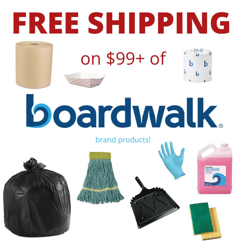 Free shipping on Boardwalk $99+