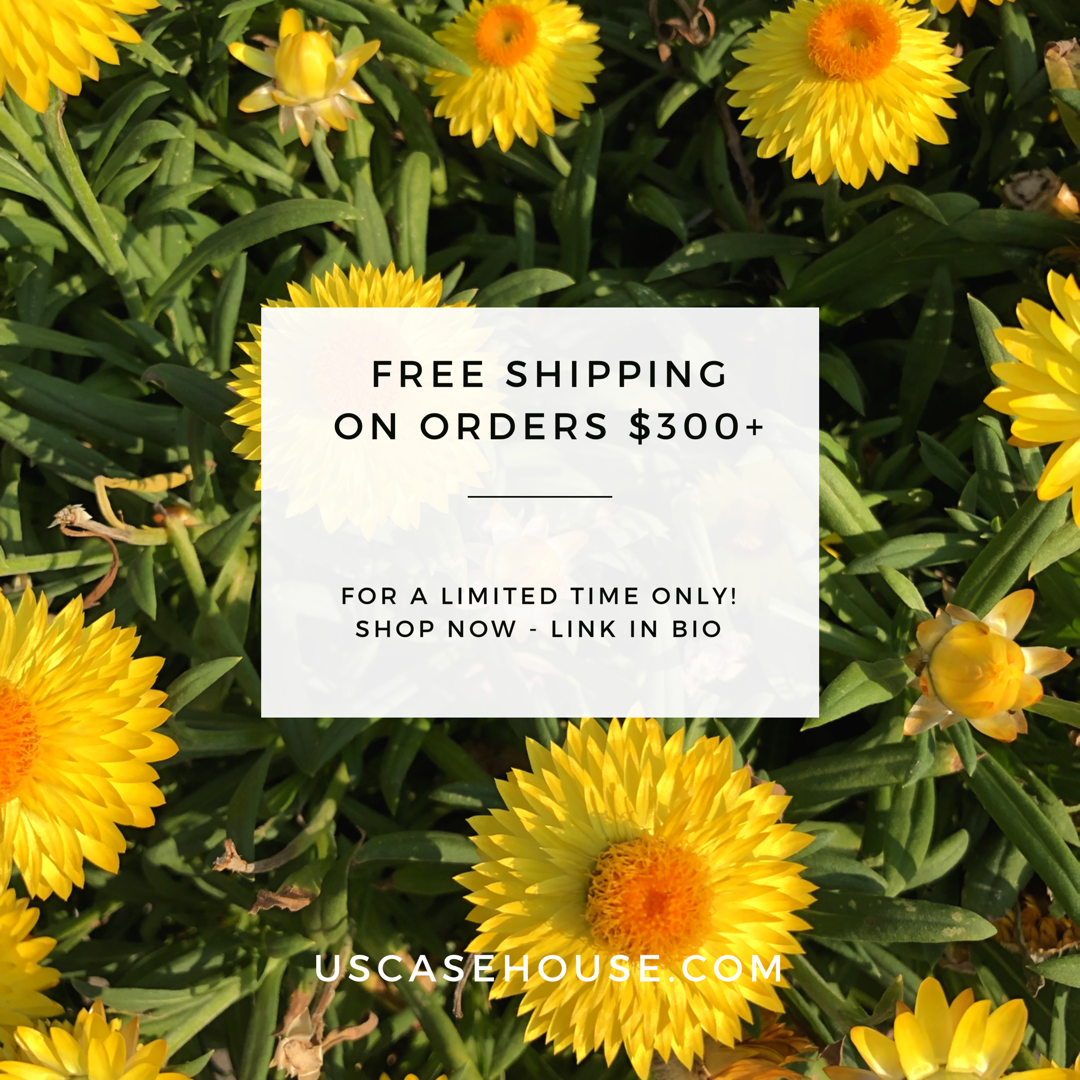 For a limited time, get free shipping on orders over $300