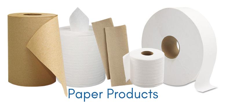 Toilet Paper, Paper Towels, Facial Tissue