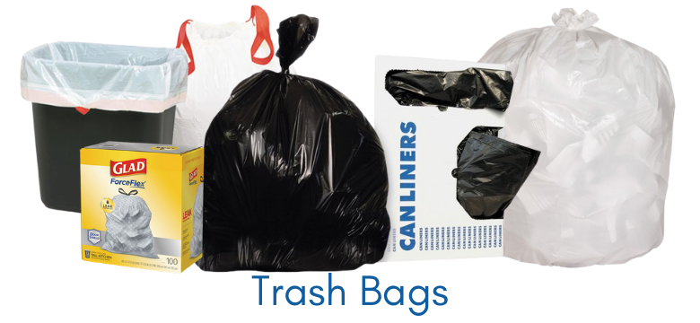 Garbage Bags and Trash Can Liners
